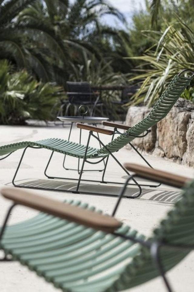 ou trouver transat bain de soleil jardin vert et bois confort chaise longue jardin terrasse balcon