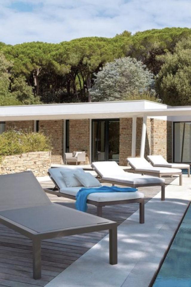 ou trouver transat bain de soleil jardin piscine idée confort vacances été jardin terrasse balcon