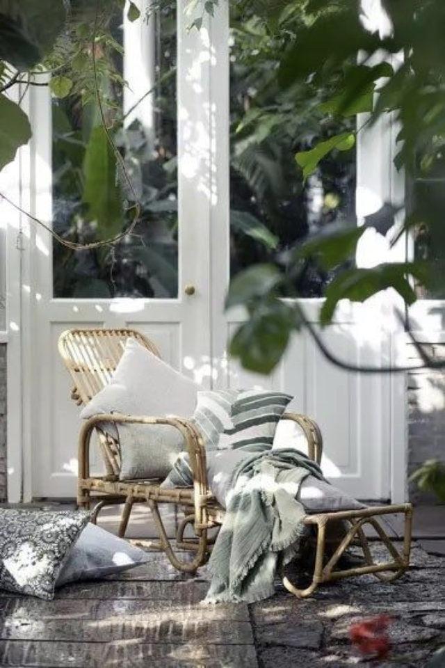 ou trouver transat bain de soleil jardin chaise longue décoration idée jardin terrasse confort cosy balcon