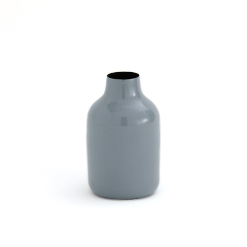 salle a manger deco style bord de mer vase bleu métal simple