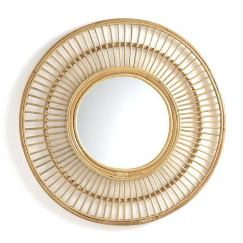 salle a manger deco style bord de mer miroir rotin soleil