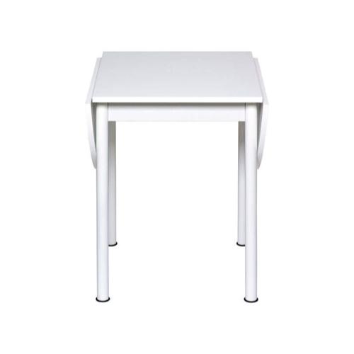 table repas 2 personne pas cher pliante blanche 4 pieds