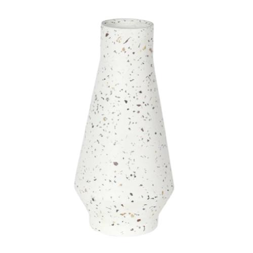 vase fleur coupee printemps ete ciment imitation terrazzo moderne tendance