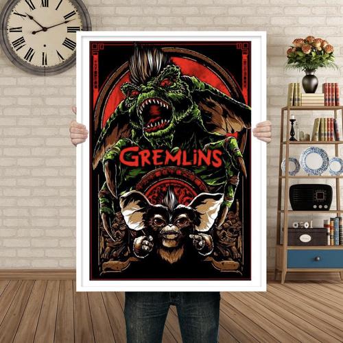 affiche film decoration rock gremlins enfance vintage années 90