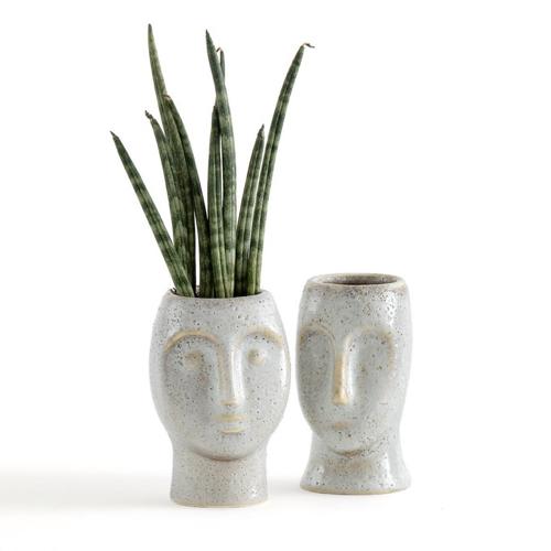 cache pot plantes depolluantes interieur moderne élégante visage
