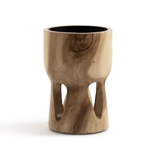 cache pot plantes depolluantes interieur en bois naturel décoration slow living