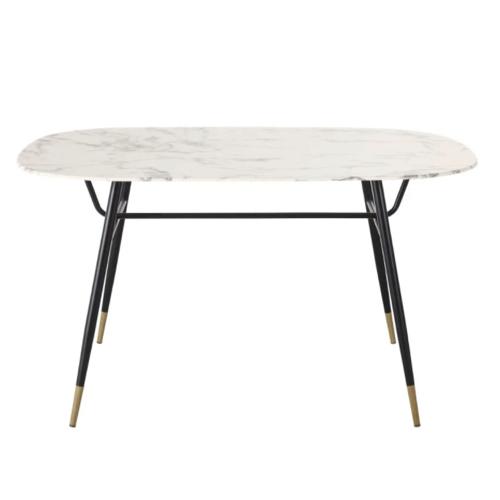 choisir table coin repas effet marbre moderne élégante