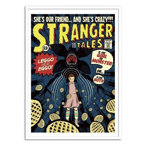 deco poster affiche film serie rock bande dessiné stranger things