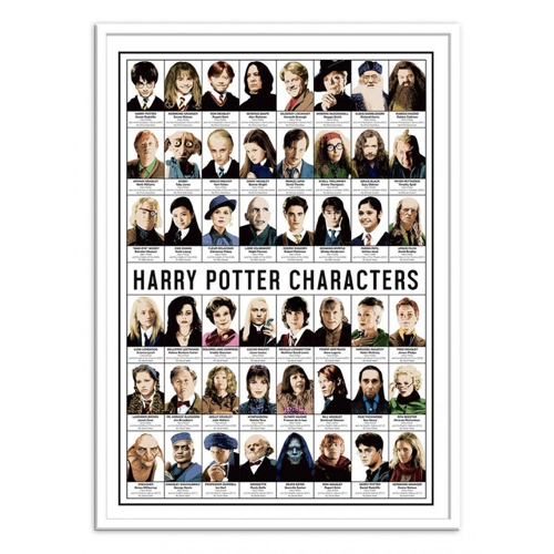 deco poster affiche film serie rock harry potter personnage
