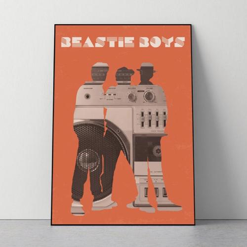 interieur rock poster musique beastie boys style années 90