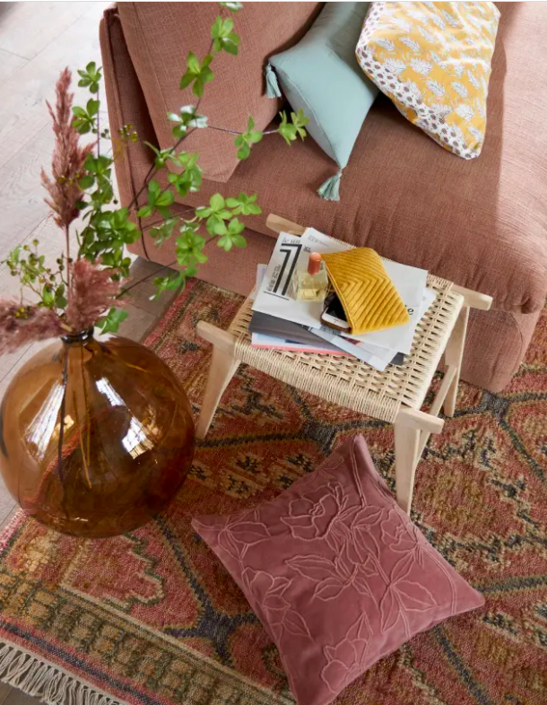 nouvelle collection deco maison la redoute hygge moderne couleur chaude et chaleureuse