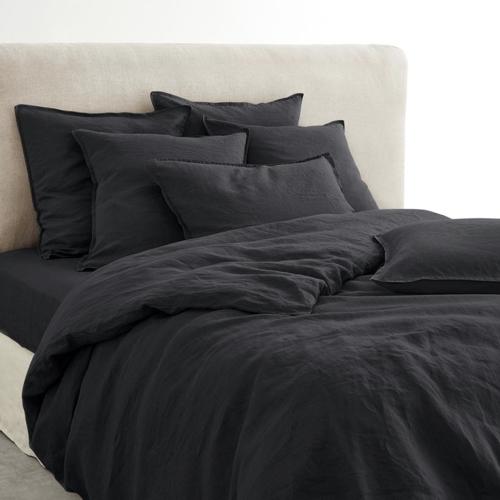 ou trouver deco chambre masculine parure de lit noire unie simple pratique efficace