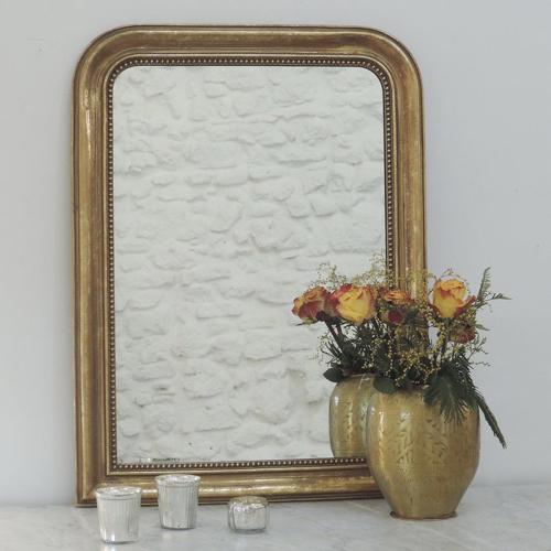 ou trouver miroir deco entree style ancien doré moulures