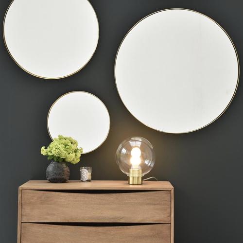 ou trouver miroir deco entree forme ronde moderne exemple
