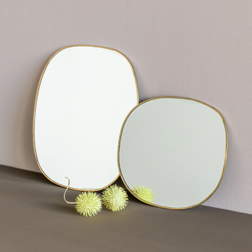 ou trouver miroir entree design petit modèle forme organique