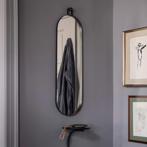 ou trouver miroir entree design décoration murale grand format oval