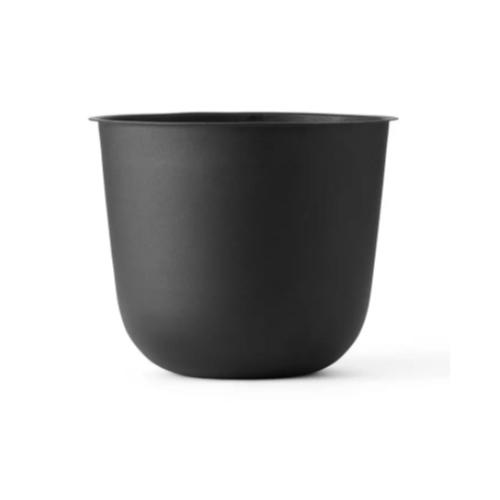 plante deco pot de fleur couleur noir simple élégant moderne