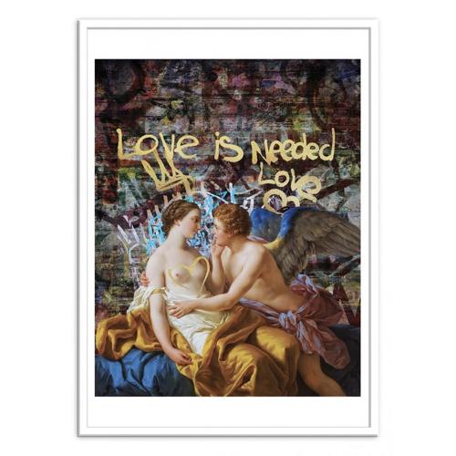 poster affiche musique rock decoration murale pas cher parole love is all you need beattles
