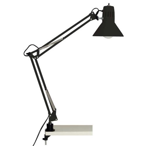 teletravail bureau salon deco lampe style vintage architecte