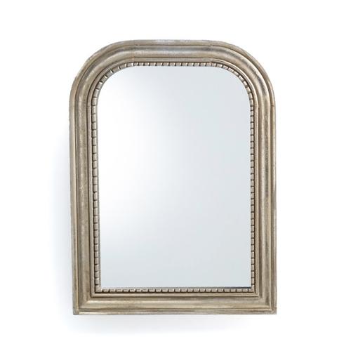 tendance deco hygge chaleureuse miroir style ancien en manguier irisé