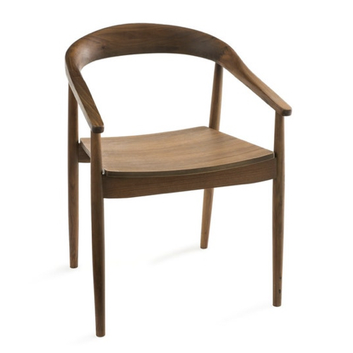 vintage table chaise coin repas fauteuil de table bois rétro mid century modern