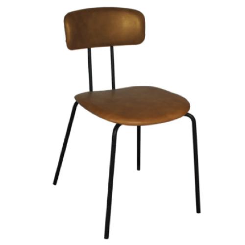 vintage table chaise coin repas chaises rétro école métal cuir