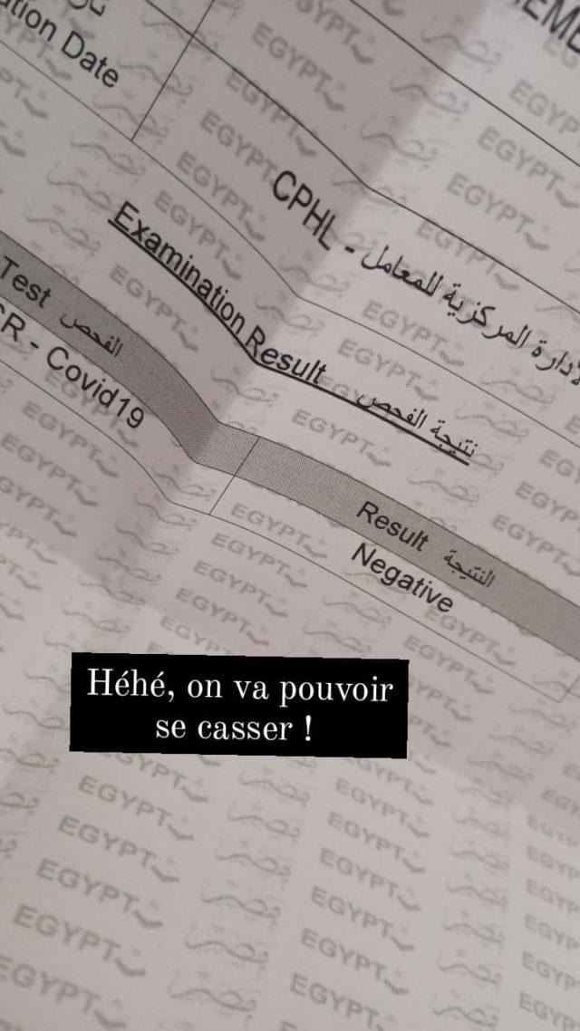 voyager egypte nomade test PCR information ou le faire combien ca coute