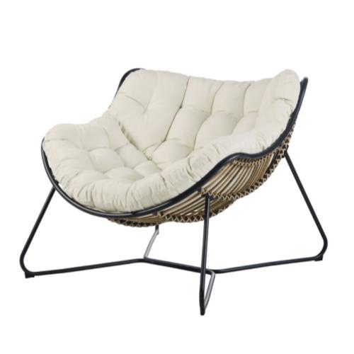 accessoire deco plus chaleureuse minimaliste slow fauteuil salon séjour moderne