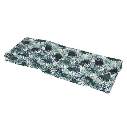 accessoire decoration jardin exterieur moderne coussin pour palette imprimé tropical