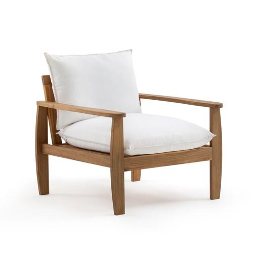 balcon cosy confort idee fauteuil extérieur structure bois moderne coussin