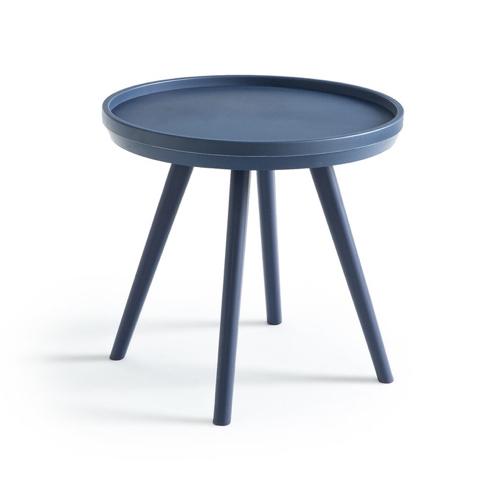 balcon cosy confort idee petite table basse extérieure colorée