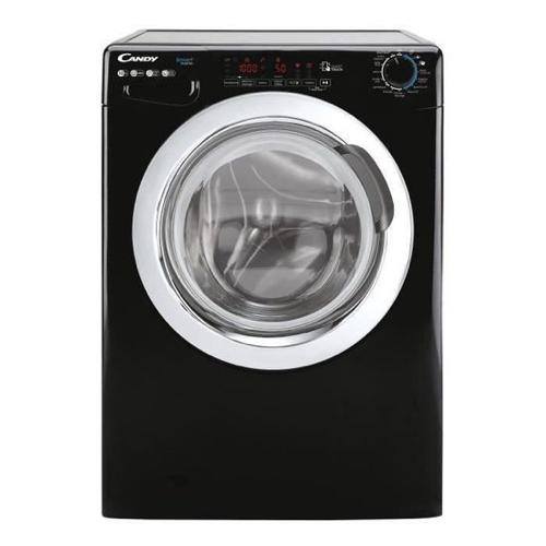 buanderie lave-linge promo noir à hublot