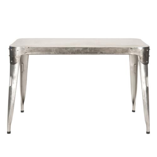 changer table salle a manger en métal style industriel