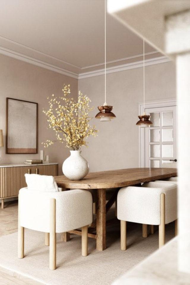 conseil choix table salle a manger oblongue ovale bois familiale élégante chic