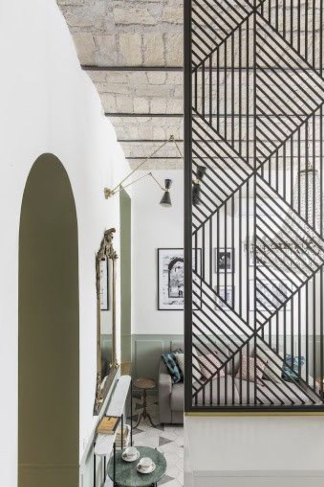 conseil deco amenagement claustras interieur élégant et moderne salon séjour salle à manger cloison