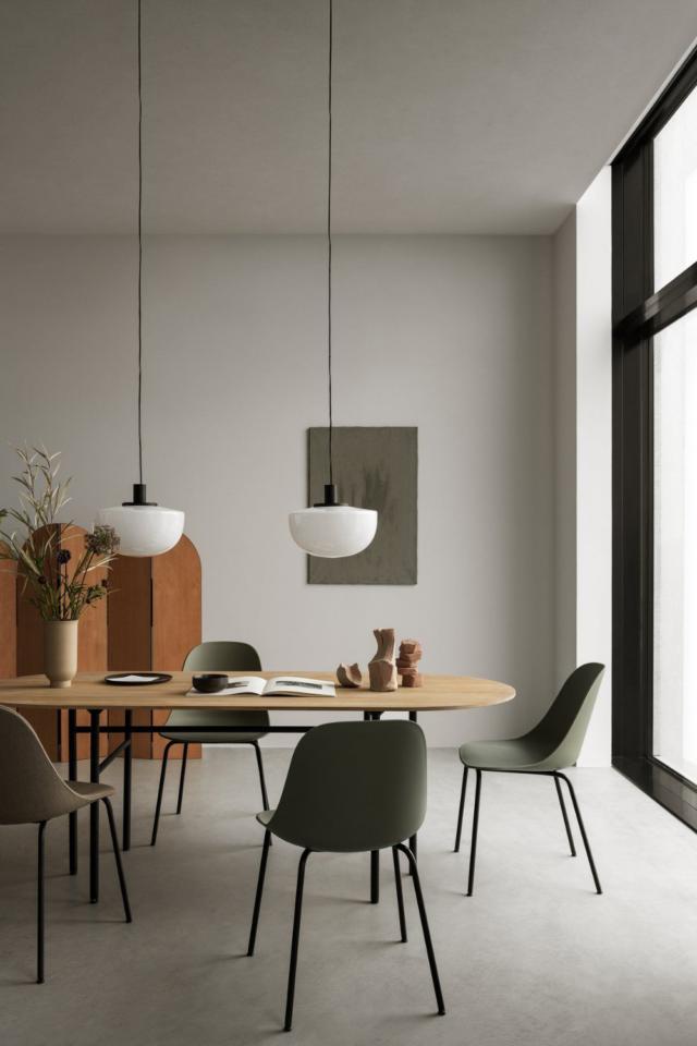 interieur minimaliste chaleureux exemple salle à manger design moderne minimal japandi slow living