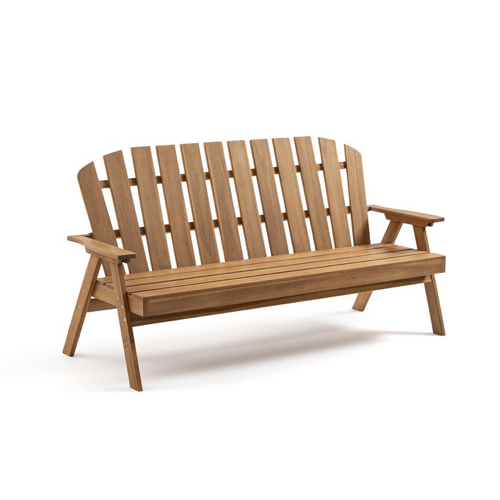 jardin tendance confort 2021 banc en bois classique avec accoudoir