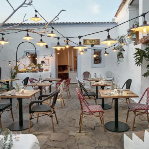 jardin terrasse accessoire decoration guirlande extérieure tendance