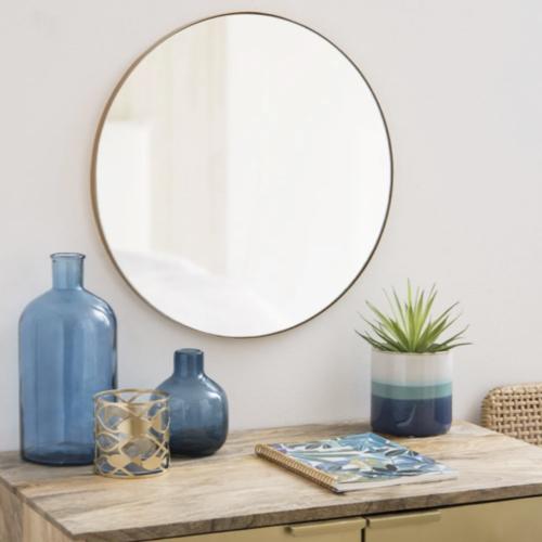 miroir rond tendance maisons du monde simple minimaliste élégant