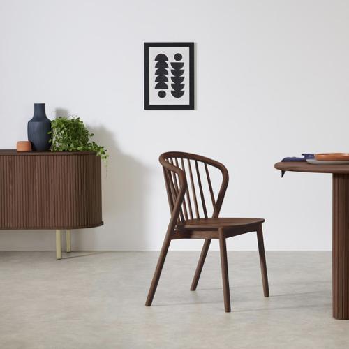 mobilier salle a manger style masculin chaise en bois design vintage