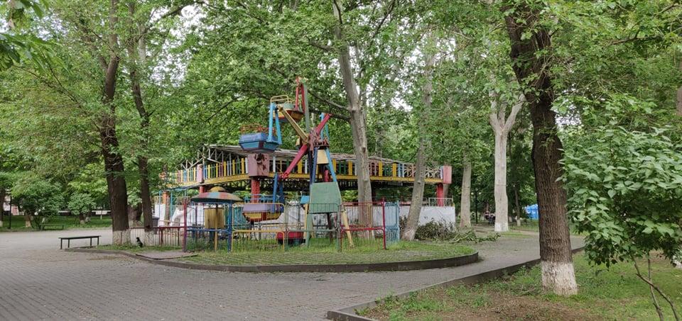 nomade voyage armenie erevan nature parc ancienne aire de jeux pour enfant