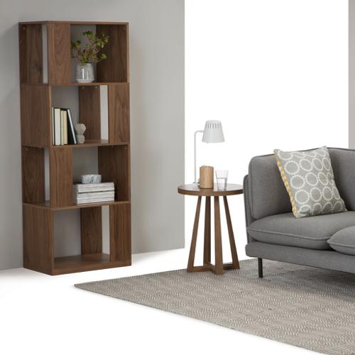 ou trouver bibliotheque vintage mid century meuble vintage salon bois déstructuré