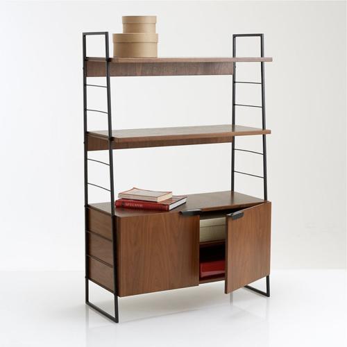 ou trouver bibliotheque vintage mid century style vintage années 50 étagère et portes string