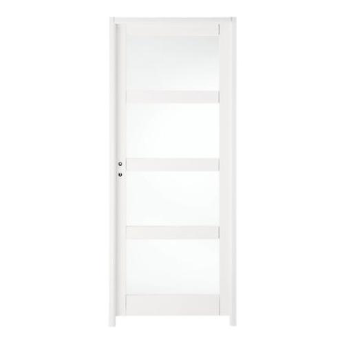 ou trouver porte vitree interieure pas cher blanche moderne vitre opaque