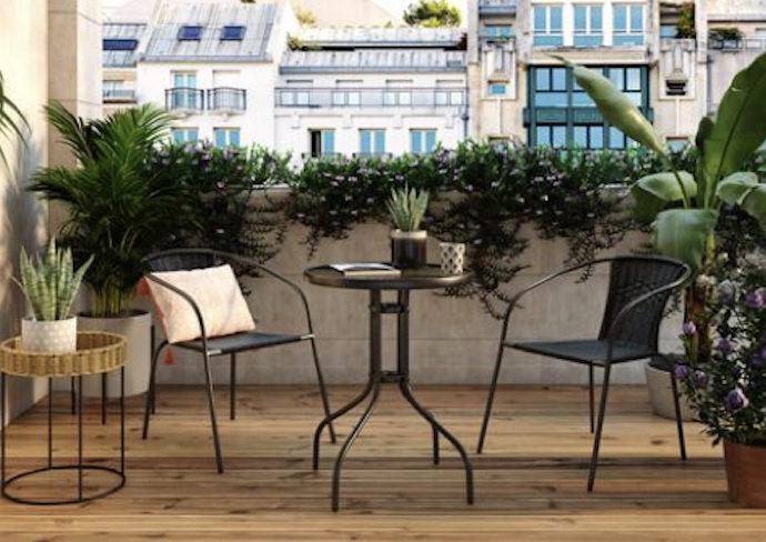 ou trouver salon jardin pas cher table fauteuil chaise exterieur style moderne