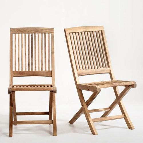petit balcon cofortable shopping chaises en bois extérieur outdoor pliante
