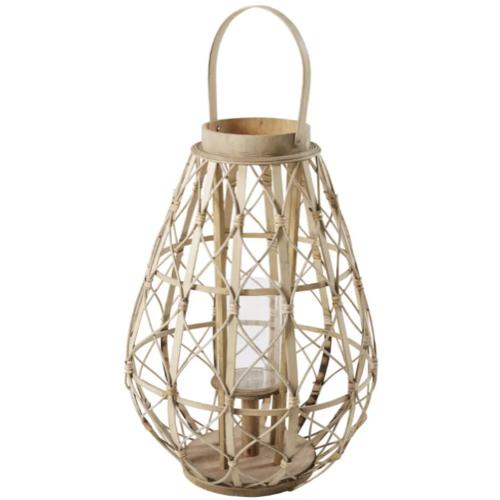 petit balcon cofortable shopping lanterne en bambou pour extérieur outdoor