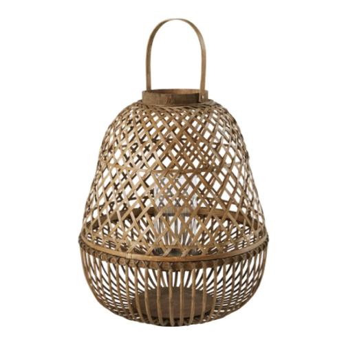 petit balcon cofortable shopping lanterne en bambou pour extérieur outdoor rotin naturel
