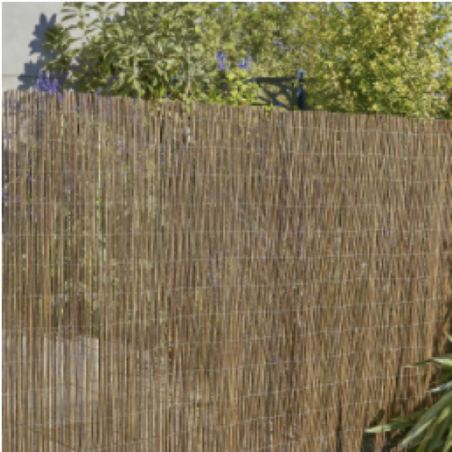 petit balcon detente nature cannisse pour habiller garde-corps balustrade