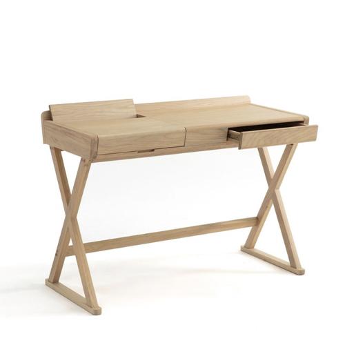petit bureau amenagement chambre idee gain de place bois clair tiroir fonctionnel